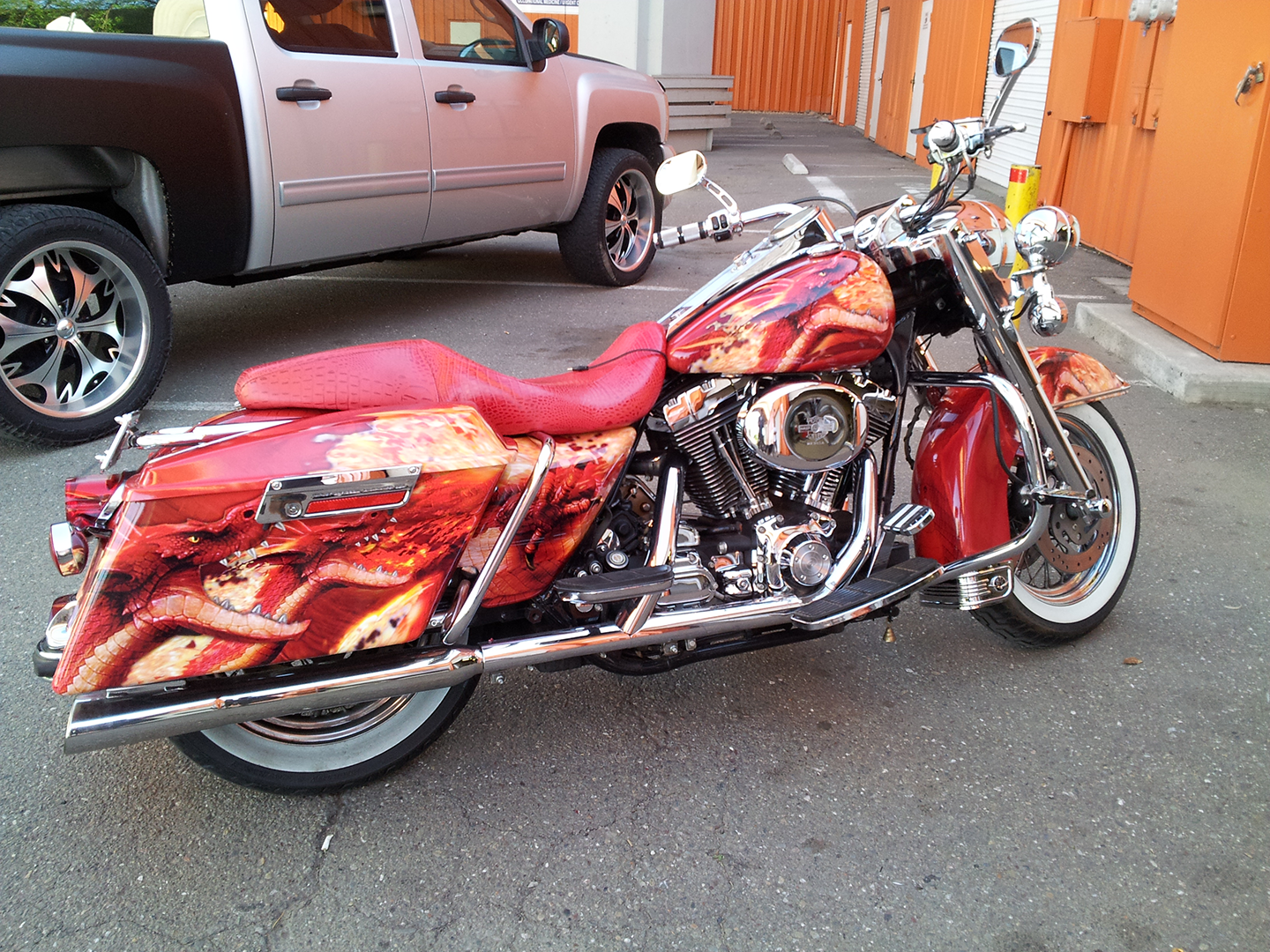 Harley Dragon Wrap Car Wraps In San Francisco