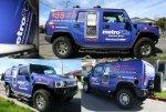 METRO PCS Hummer H2 Wrap