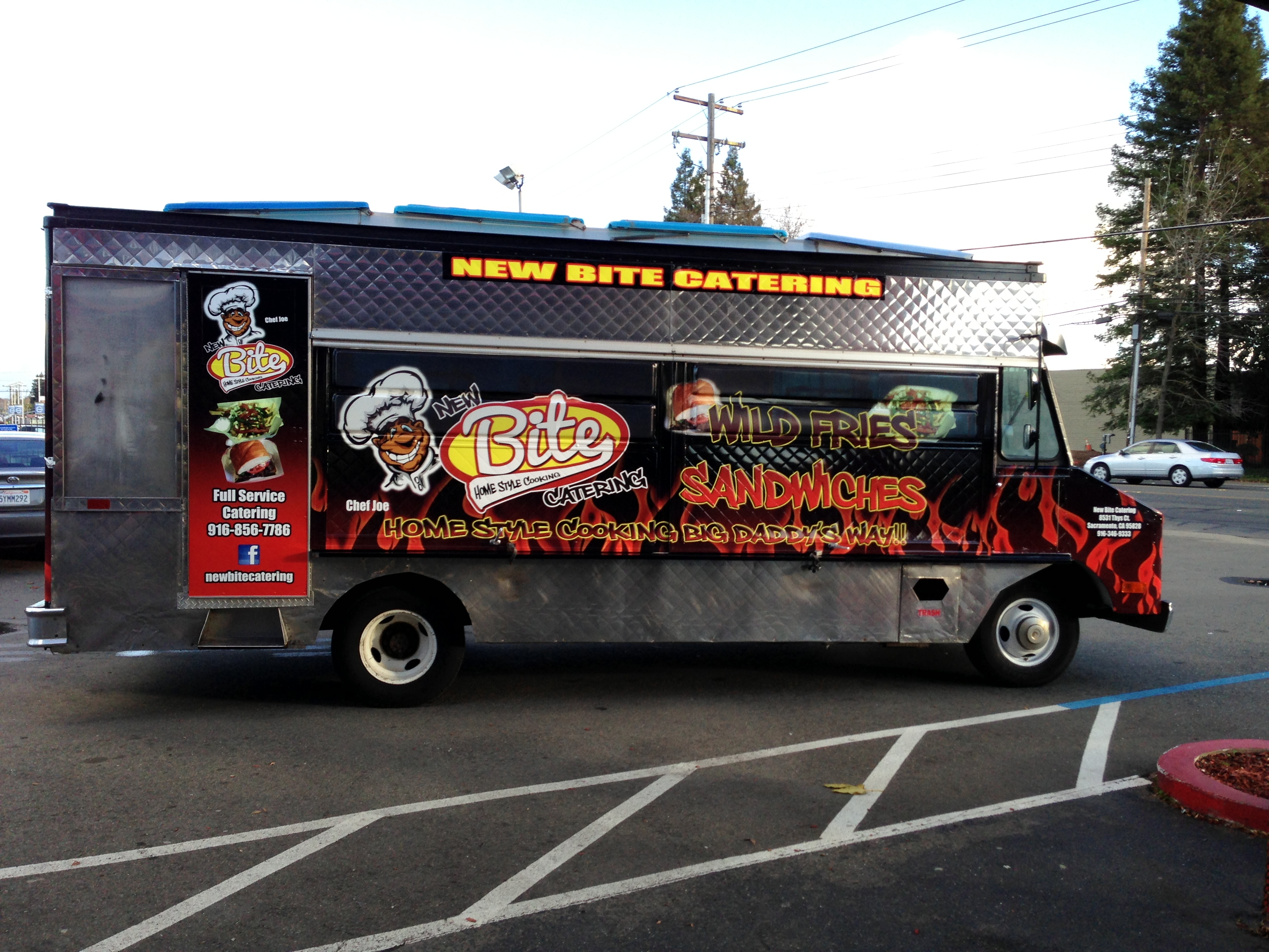 New Bite Catering Food Truck Wrap Car Wraps In San
