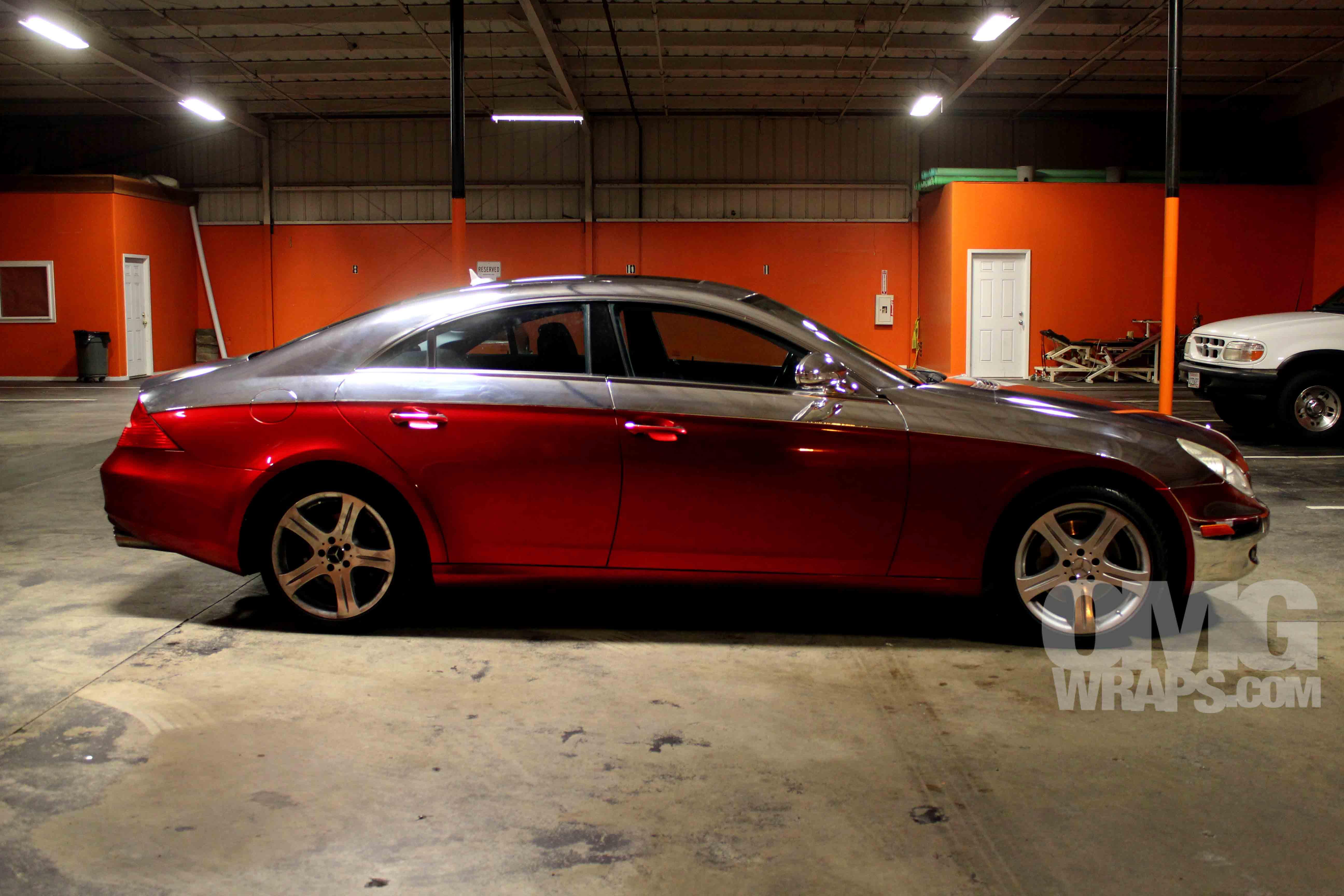 Mercedes Benz Of Oakland >> Custom Chrome Vehicle Wrap | Car Wraps In San Francisco, Sacramento and Los Angeles