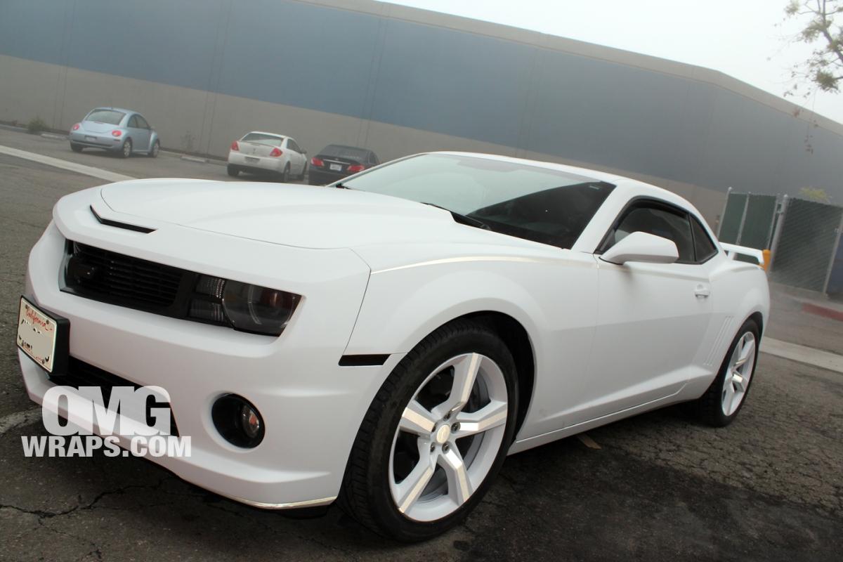 Matte White Car Wrap Sf Car Wraps In San Francisco