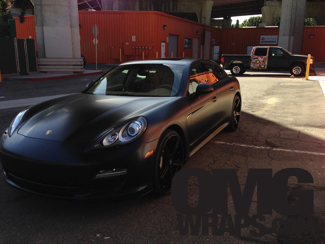 Porsche Panamera Matte Wrap12 Car Wraps In San Francisco