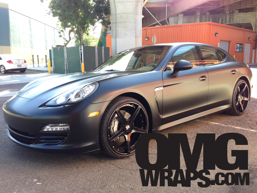 Porsche Panamera Satin Matte Wrap Car Wraps In San