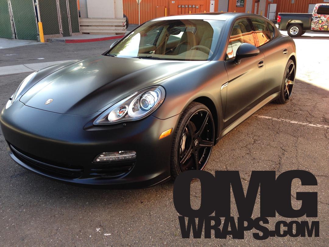 Porsche Panamera Matte Wrap 10 Car Wraps In San